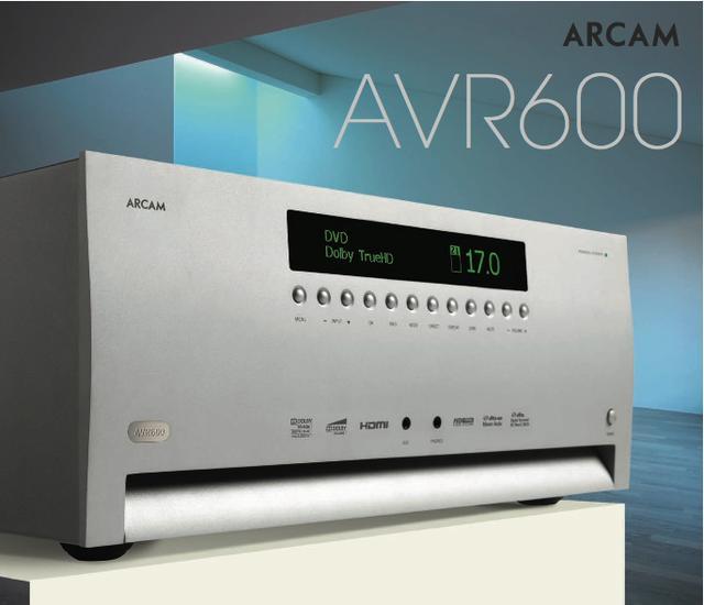 Arcam AVR 600 - amplituner dla bardzo wymagających