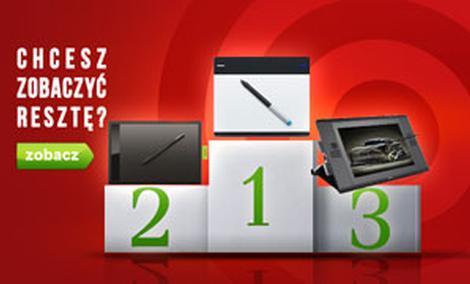 TOPowe Tablety Graficzne - Ranking Czerwiec 2015