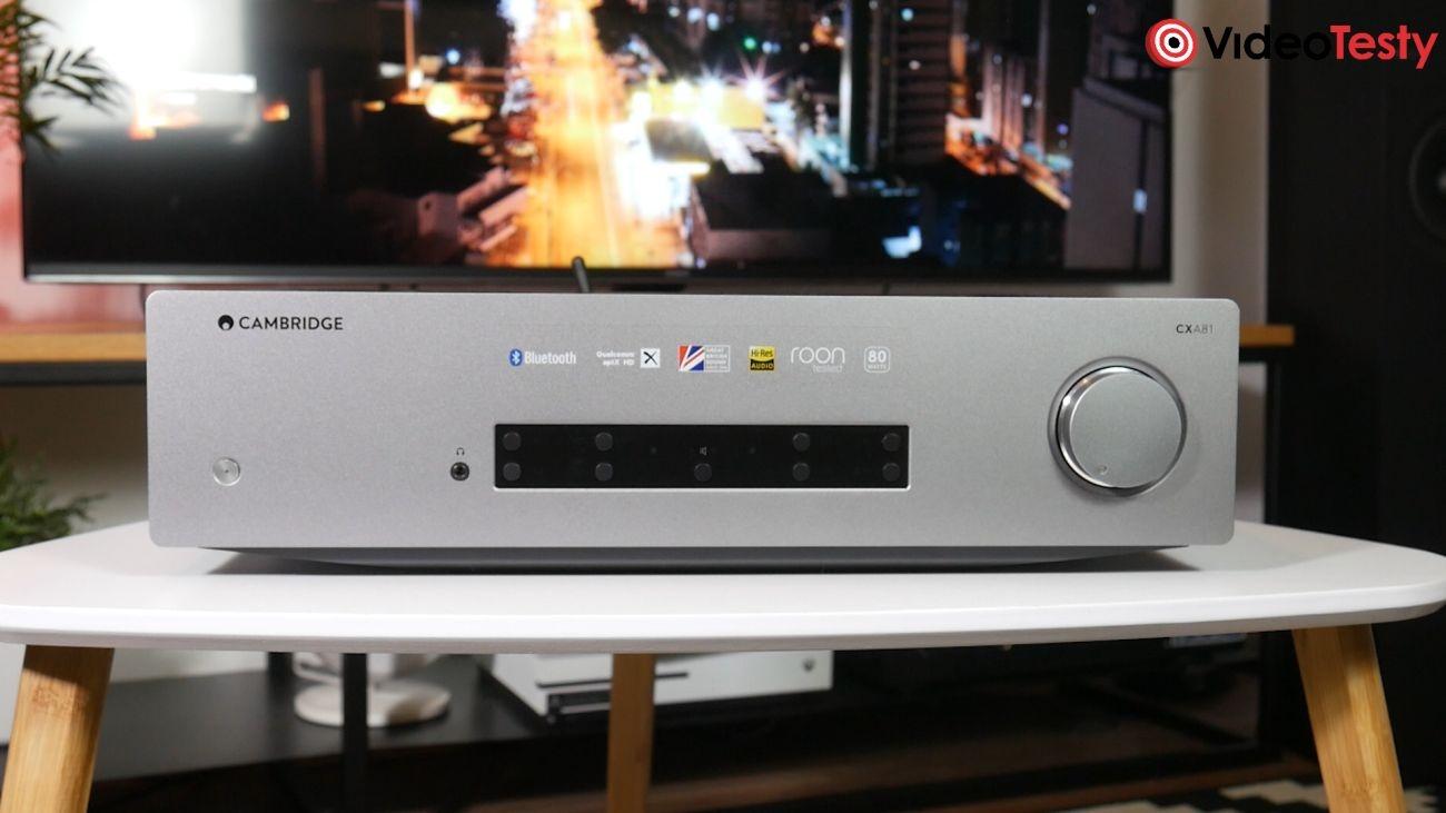 wzmacniacz zintegrowany Cambridge Audio CXA81 wygląd zewnętrzny