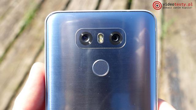 Test LG G6 - aparat