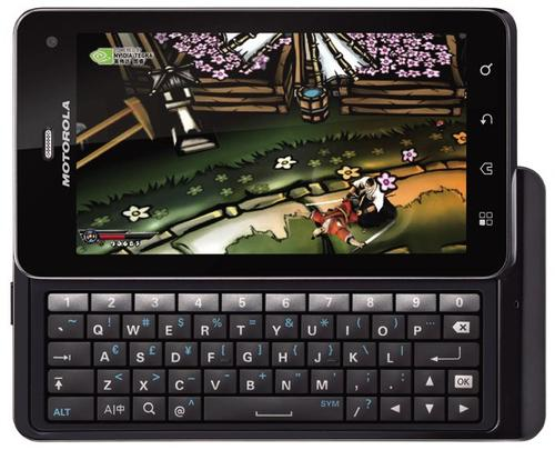 Motorola XT883 Milestone 3
