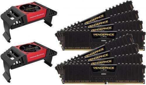Corsair Vengeance LPX DDR4, 8x8GB, 4133MHz, CL19 (CMK64GX4M8X4133C19)