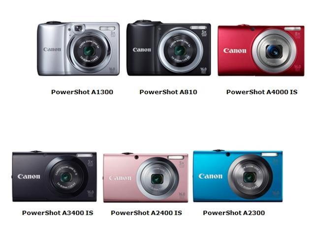 Canon wprowadza nową linię stylowych aparatów PowerShot serii A