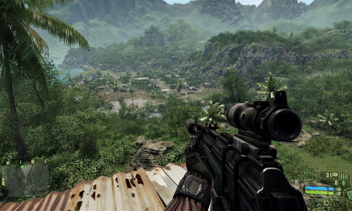 grafika pierwszej wersji silnika CryEngine