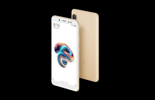 Redmi Note 5 design