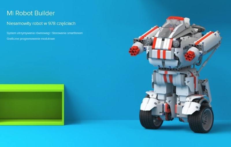 Robot jak LEGO