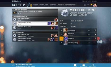 Battlelog - Battlefield 4 zawsze pod ręką!