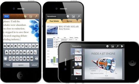 Aplikacje biurowe dla iPhona