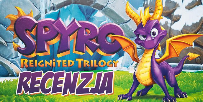 Recenzja Spyro Reignited Trilogy – Fioletowy smoczek atakuje komputery!