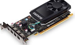 PNY Technologies NVIDIA Quadro P600, 2GB GDDR5 (128 Bit), 4x miniDP (VCQP600DVI-PB)