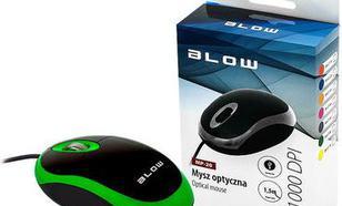 Blow przewodowa optyczna MP-20 1000dpi zielony
