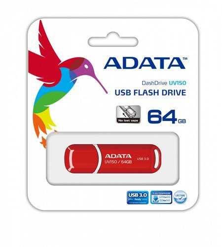 A-Data DashDrive Value UV150 64GB USB3.0 Red