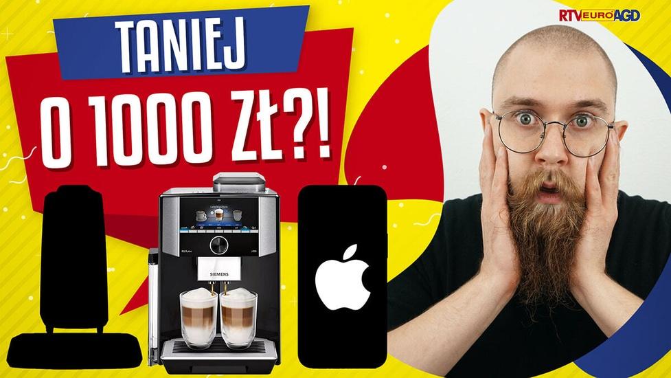 Taniej nawet o 1000 złotych?! Ekspres, iPhone, słuchawki w promocji