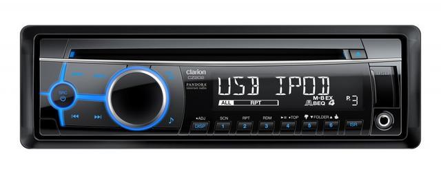 Clarion CZ202 - popularny radioodtwarzacz samochodowy