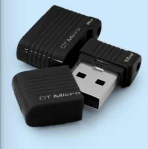 Kingston Data Traveler Micro 32GB USB2.0 Black