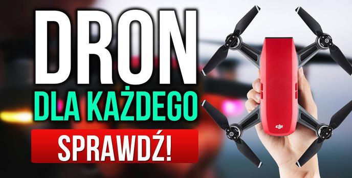 Dron Dla Każdego - Prezentacja DJI Spark!