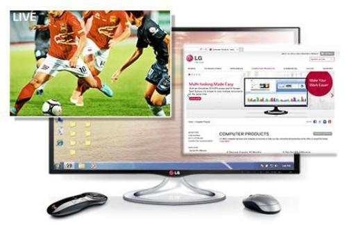 LG 27'' 27MT93V IPS TV 3D 250cd 5000000:1 HDMIx3