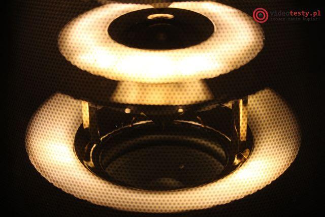 Yamaha LSX-170 podświetlenie