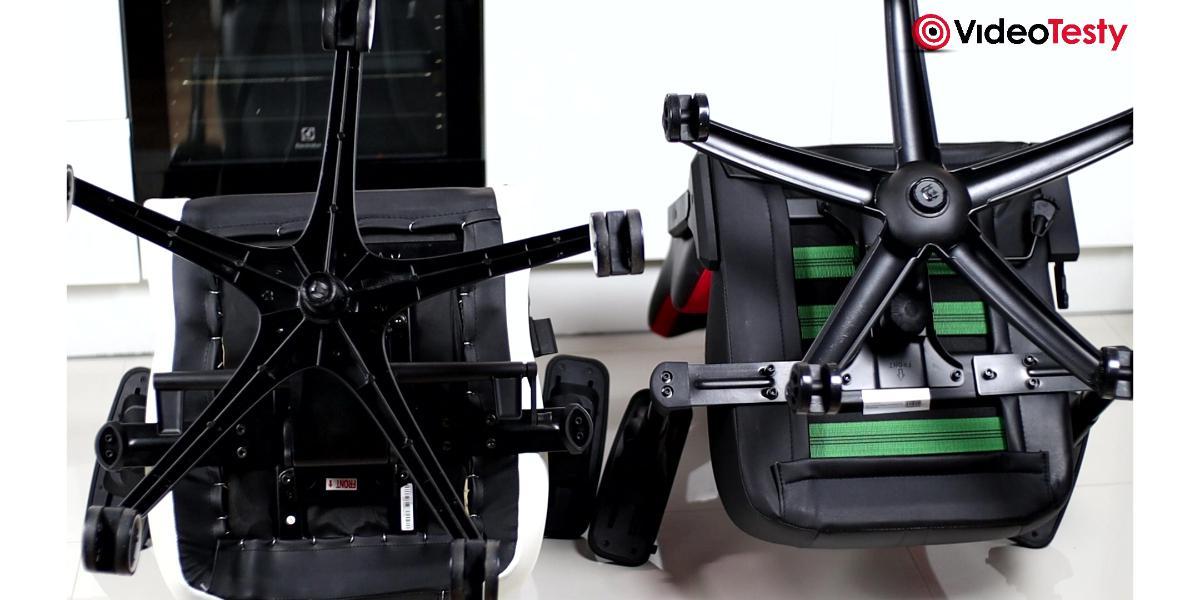 MSI MAG CH110 vs Vertagear PL6000 - jakość podstaw