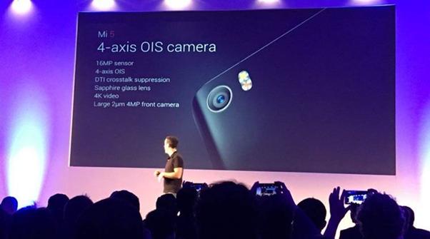 Xiaomi Mi 5 aparat