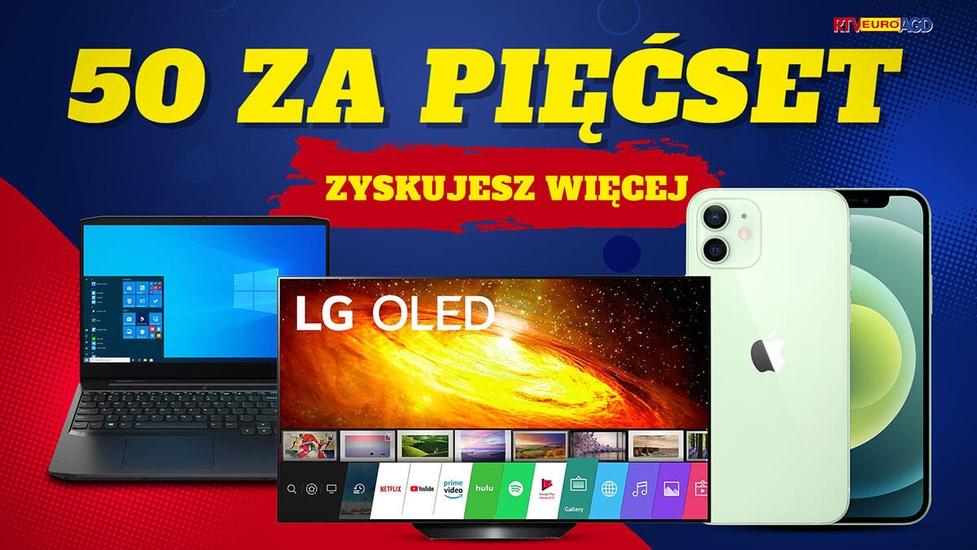 LG OLED za 4249 zł! 50 zł rabatu za każde 500 zł w RTV Euro AGD!
