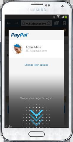 Logowanie PayPal Samsung