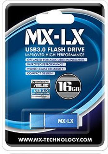 Mach Xtreme LX 16GB USB3.0 150/25 MB/s aluminium - Blue