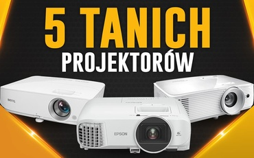 Niedrogie projektory za 2000 zł   TOP 5  