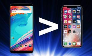 OnePlus 5T Wydajniejszy od iPhone X!