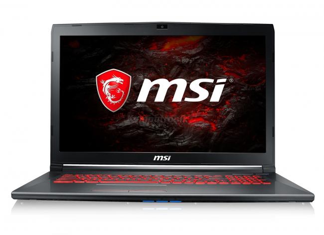 MSI GV72 8RD-046XPL - 480GB SSD   16GB