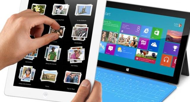 iPad vs. Microsoft Surface