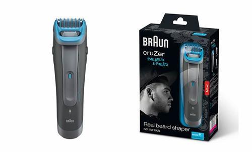 Braun Maszynka do włosów CRUZER 6 Beard &Head