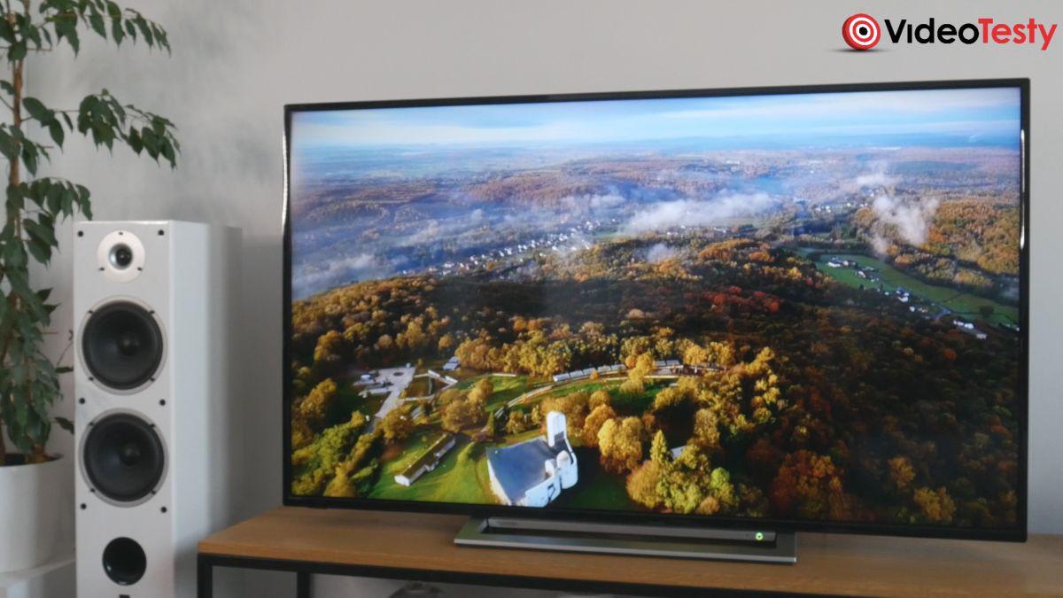 Toshiba 55UA3A63DG wygląd w salonie