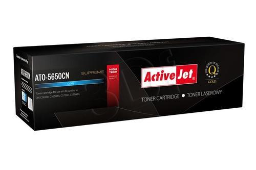 ActiveJet ATO-5650CN cyan toner do drukarki laserowej OKI (zamiennik 43872307) Supreme