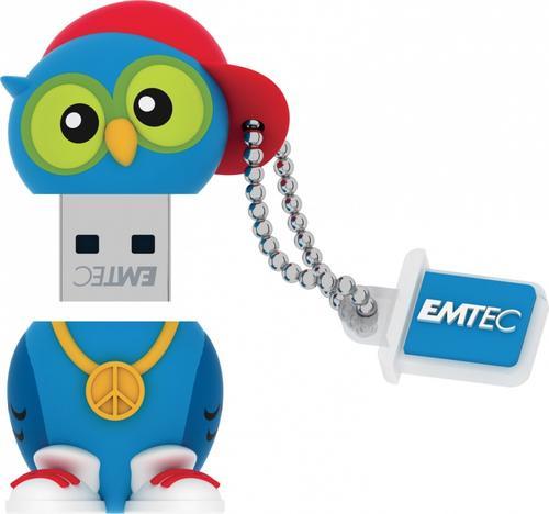 EMTEC Pendrive 8GB DJ Owl The Animalitos