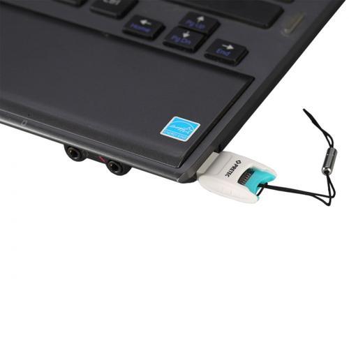PRETEC USB 2.0 V102 microSD/SDHC/SDXC Card Reader
