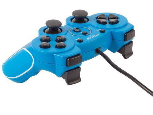 Gioteck Gamepad VX-2 PS3 Niebieski