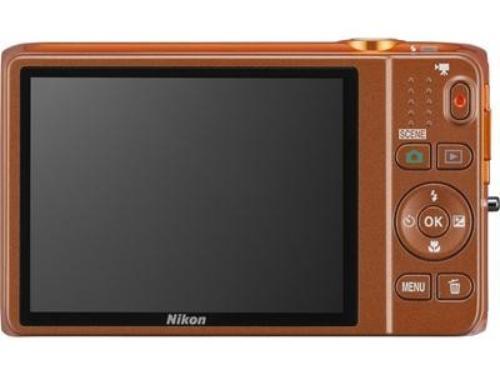 Nikon S6500 orange