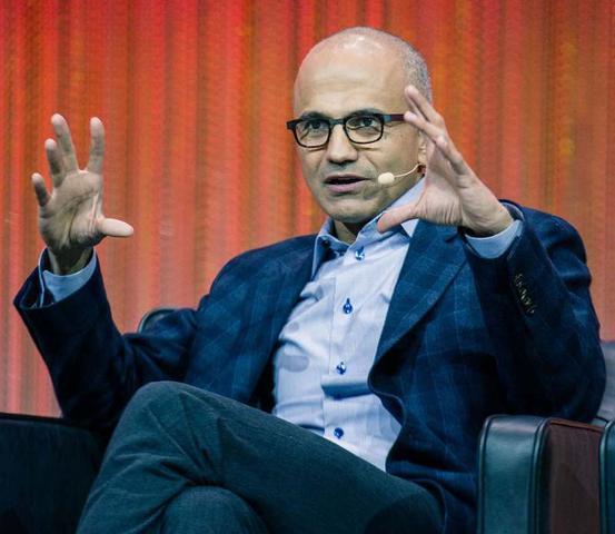 CEO Microsoftu, Satya Nadella.