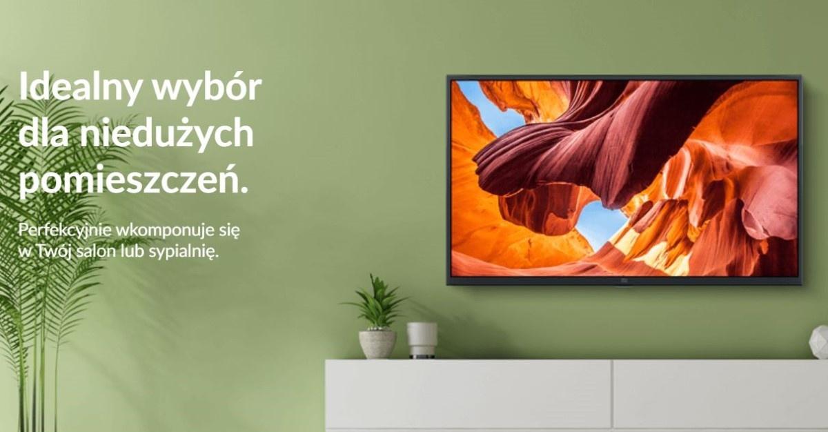 """Xiaomi Mi LED TV 4S 43"""" w pomieszczeniu"""