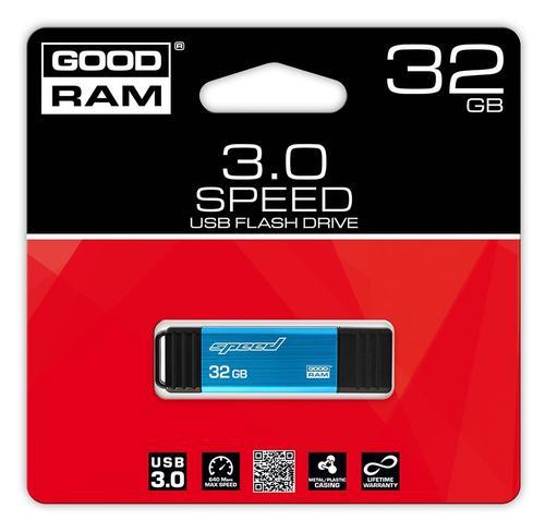 GoodRam Speed 32GB USB 3.0 Niebieski