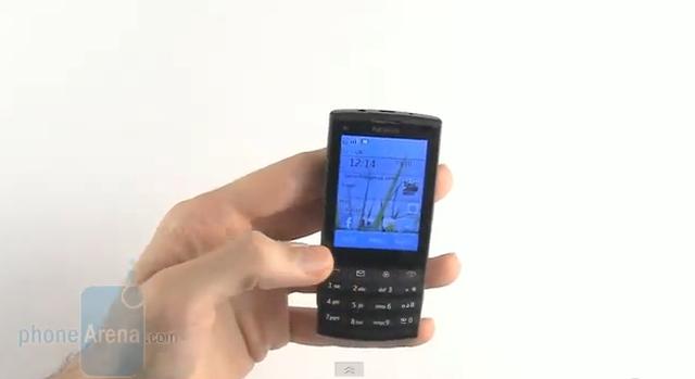 Nokia X3-02 - test telefonu