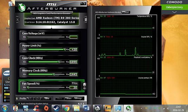 Monitorowanie Temperatury Procesora i Grafiki w Czasie Grania