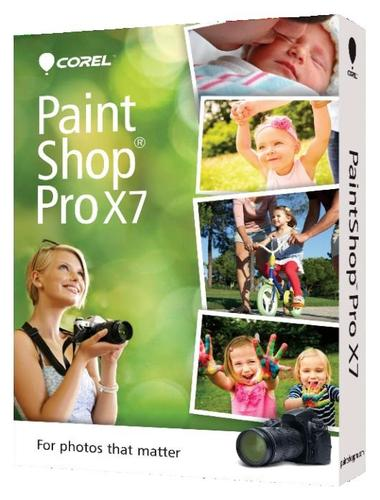 Corel PaintShop Pro X7 ENG miniBox PSPX7IEMBEU