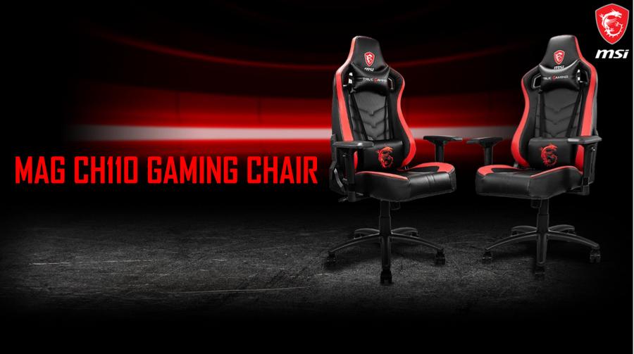 MSI MAG CH110 - krzesło gamingowe