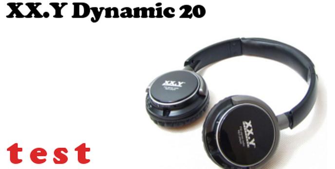 XX.Y Dynamic 20 Test Słuchawek z Wbudowanym MP3 i Radiem FM