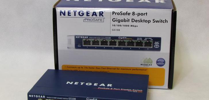 Netgear GS108 [TEST]