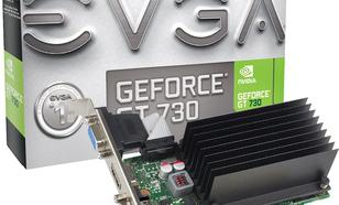 EVGA GeForce GT 730 2GB DDR3 (64 bit) HDMI, D-SUB, DVI, BOX