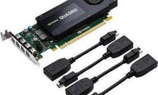 PNY Technologies QUADRO K1200 4GB GDDR5 (128Bit) 4xmDP (RVCQK1200DP-PB)