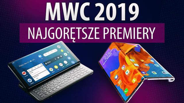 Składane telefony za 10 000 zł i dziwne ekrany - podsumowanie targów MWC 2019